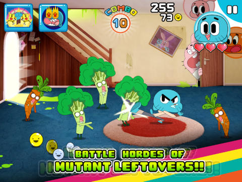 Mutant Fridge Mayhem - Gumball screenshot 6