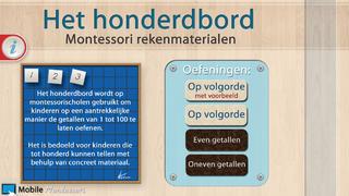 Het honderdbord _ Montessori rekenmaterialen screenshot 1