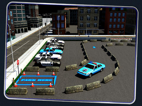 Police Car Parking 3D : Awesome Cop Training Simulator screenshot 9