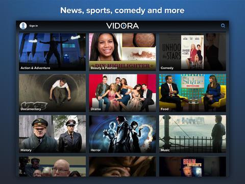 Vidora - Watch Personalized Movies, TV, and Video screenshot 3