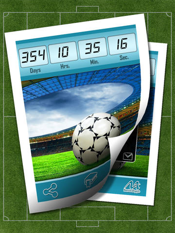 Russia Soccer 2018 - Countdown & Sports Wallpapers & Backgrounds screenshot 6