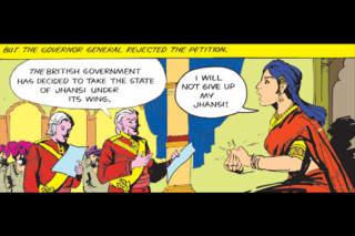 Rani Of Jansi (Lakshmibai-Queen Of Jansi)  -  Amar Chitra Katha Comics screenshot 3