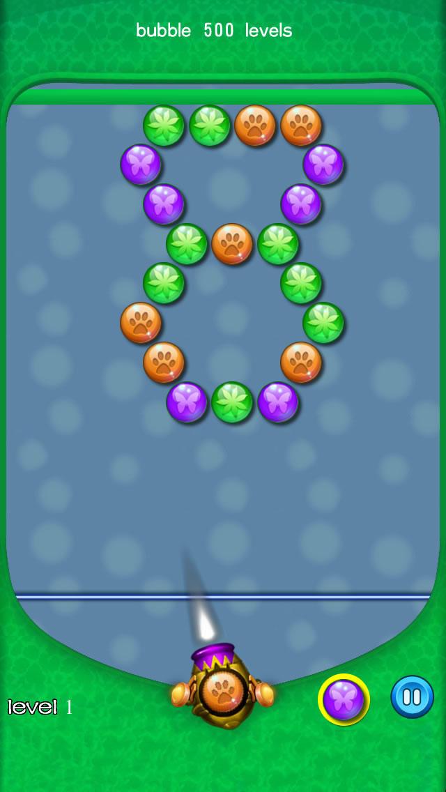 bubble 500 levels screenshot 3