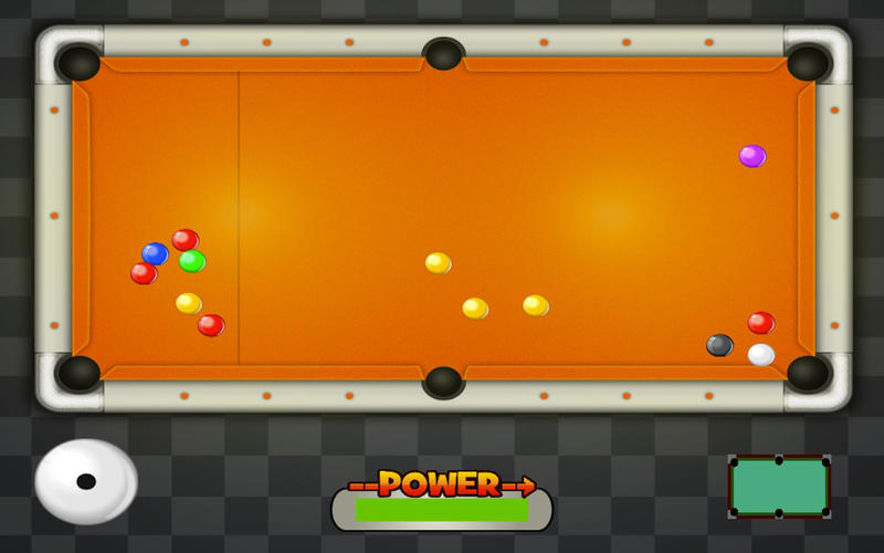 Mini Pool for Kids screenshot 2