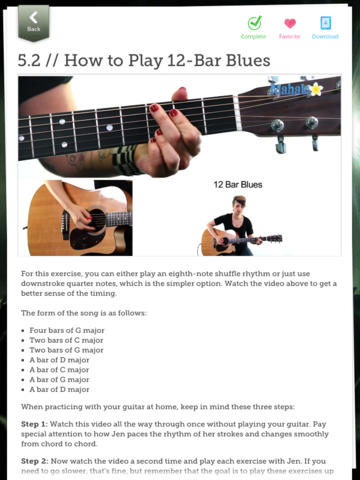 Learn Guitar screenshot 8