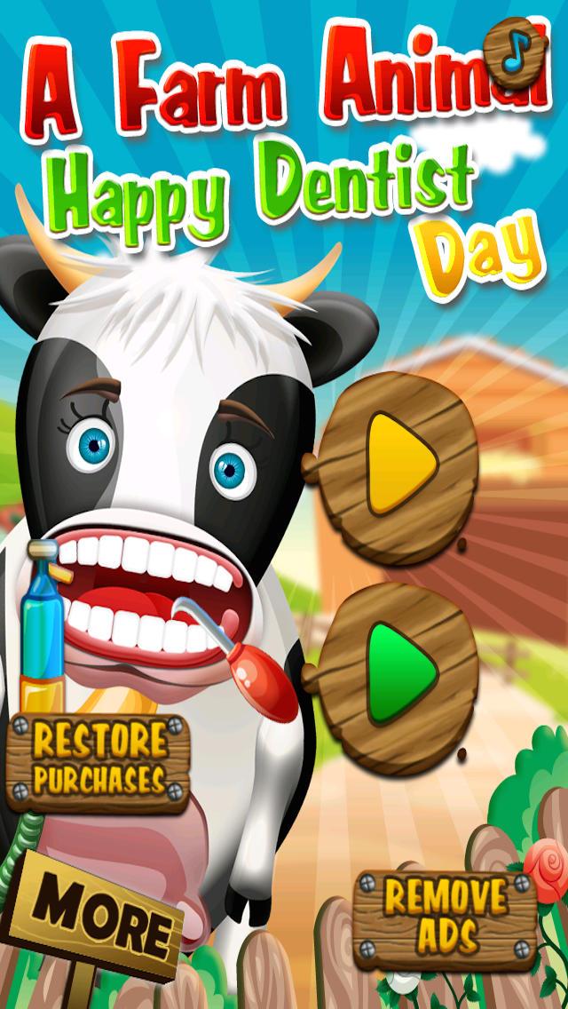 A Farm Animal Happy Dentist Day screenshot 1