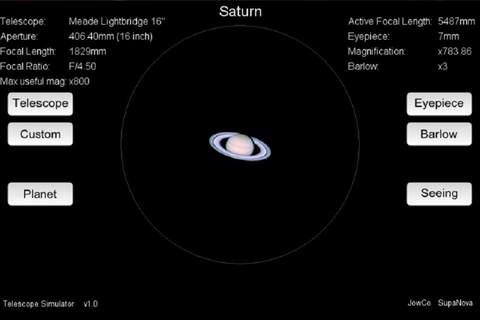 Telescope Simulator - náhled