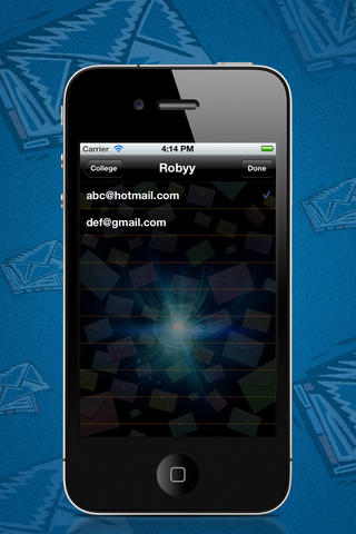 Group Email! Lite screenshot 5