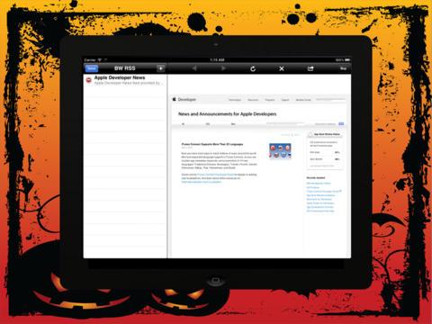 RSS Reader Pro Lite screenshot 9