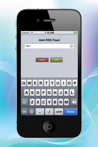 RSS Reader Pro Lite screenshot 4