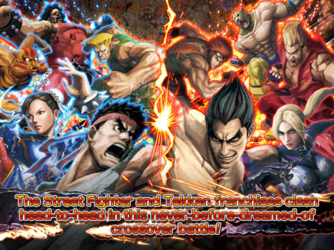 STREET FIGHTER X TEKKEN MOBILE  screenshot #1