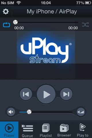uPlay Stream - náhled