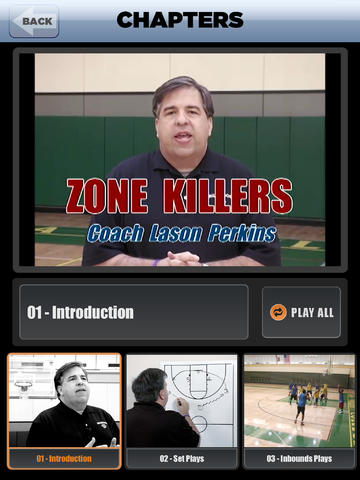 Zone Defense Killers: Scoring Playbook - with Coach Lason Perkins - Full Court Basketball Training Instruction - XL screenshot 2