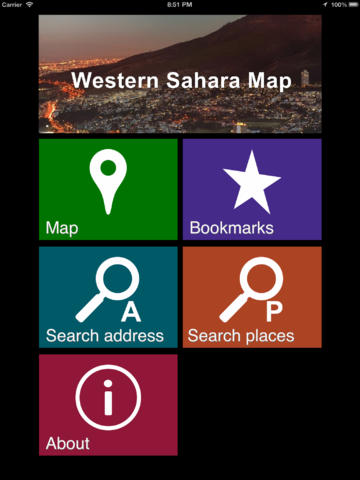 Offline Western Sahara Map - World Offline Maps screenshot 7