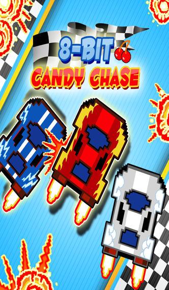 8-Bit Candy Chase - Real Nitro Track Race - Free Racing Game screenshot 1