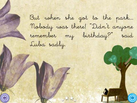 Happy Birthday LUBA HD - Children's Story Book screenshot 5