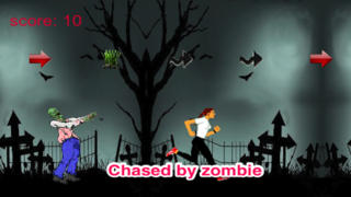 Girl vs Zombie: Running And Chasing Premium screenshot 1