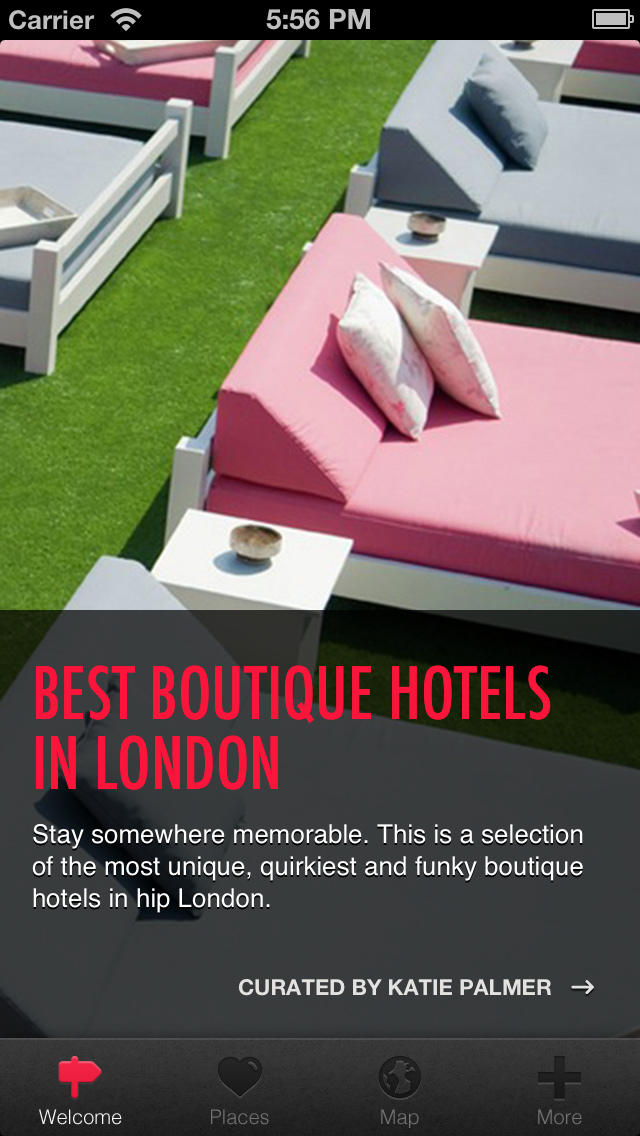 Boutique Hotels London screenshot 1