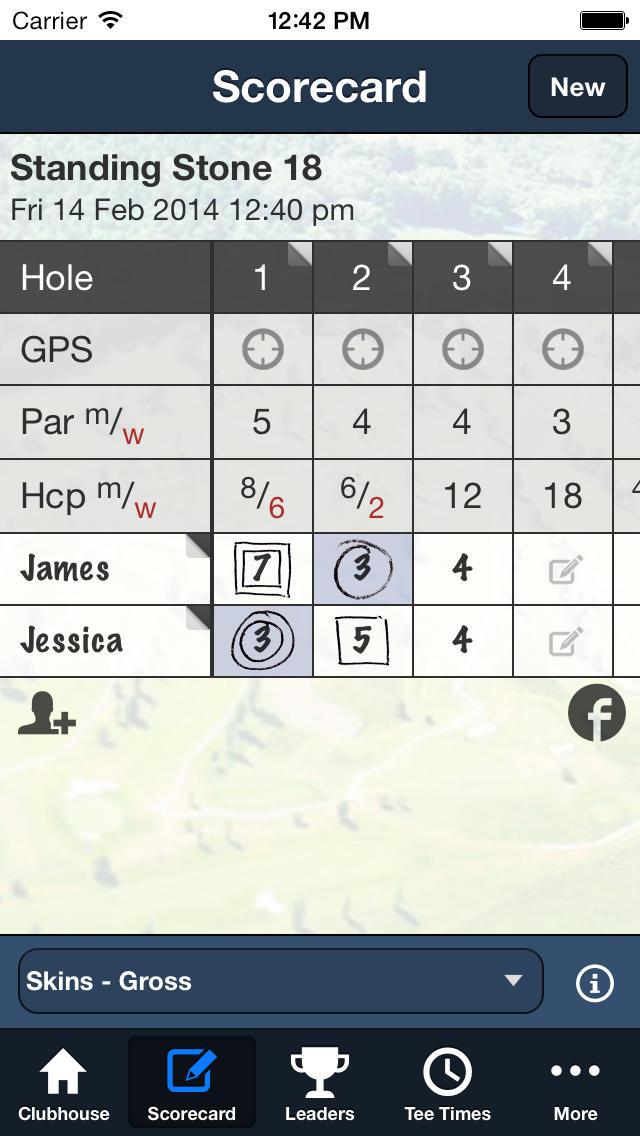 Standing Stone Golf screenshot 4
