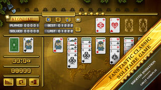 Klondike Solitaire Hearts & Spades Patience screenshot 2