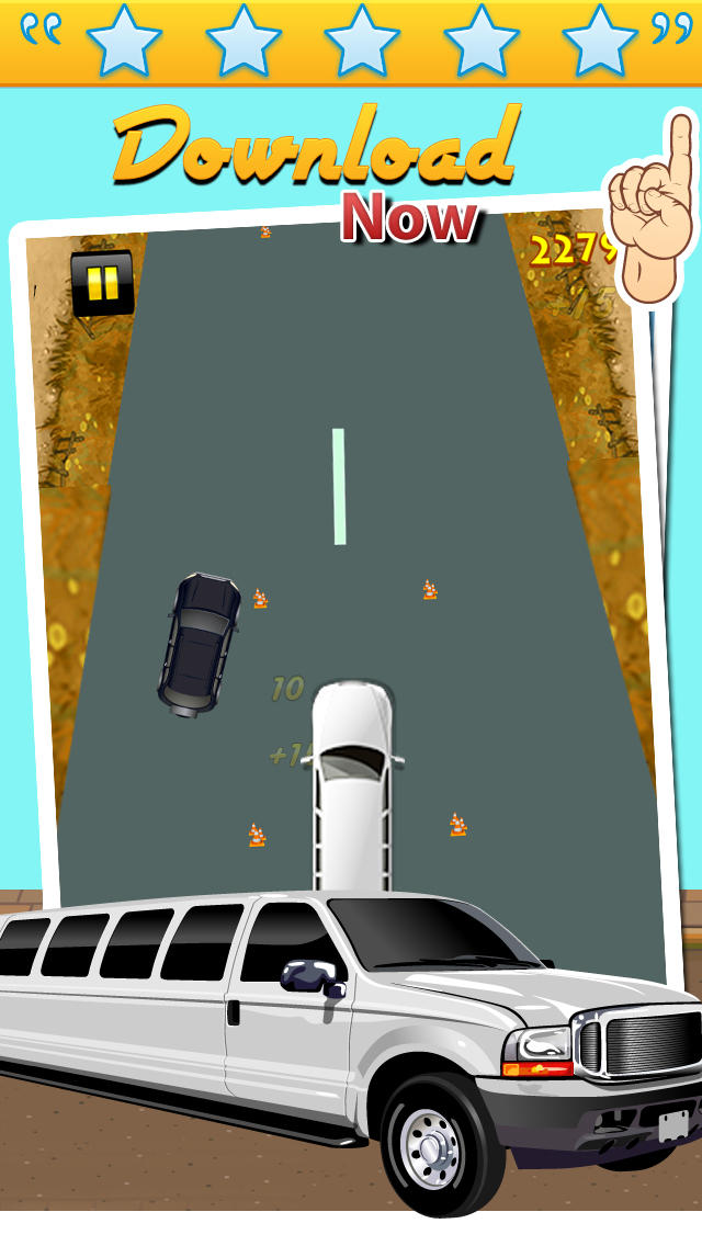 Limo Drift Race screenshot 3