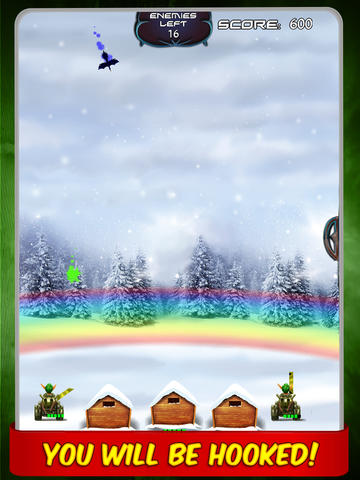 Battle of Elves Game : Fun missile defence games against magic birds screenshot 4
