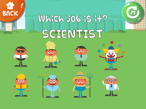 ABC Baby Jobs for Boys PRO - 3 in 1 Game for Preschool Kids - Learn Names of Professions and Occupations screenshot 9
