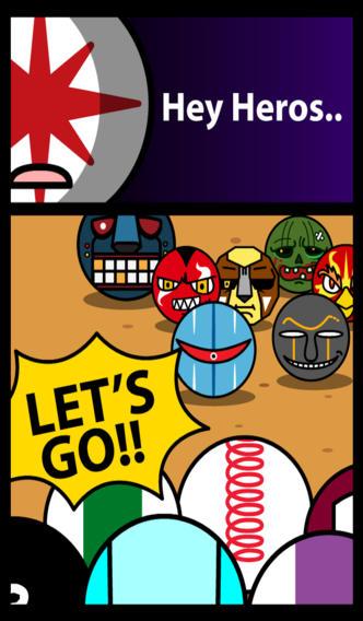 Cartoon Pin Ball Wars - Bowling Characters With Retro Skee Action! screenshot 3