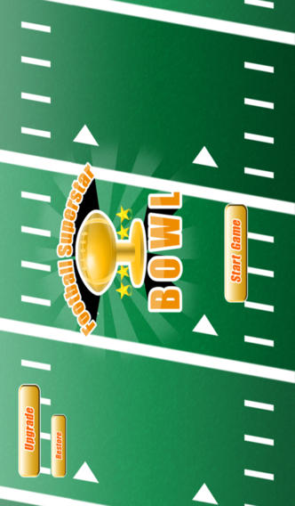 Football Bowl Super Stars - Pro Final Touchdown Match Game & Gridiron Rush Drive screenshot 1