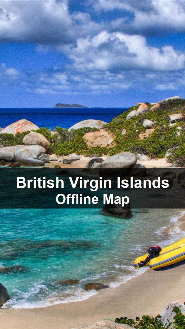 British Virgin Islands Map - World Offline Maps screenshot 1