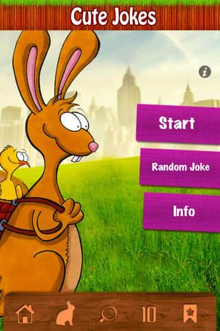 Cute Jokes - Laugh about rabbits, birds and ducks! screenshot 2