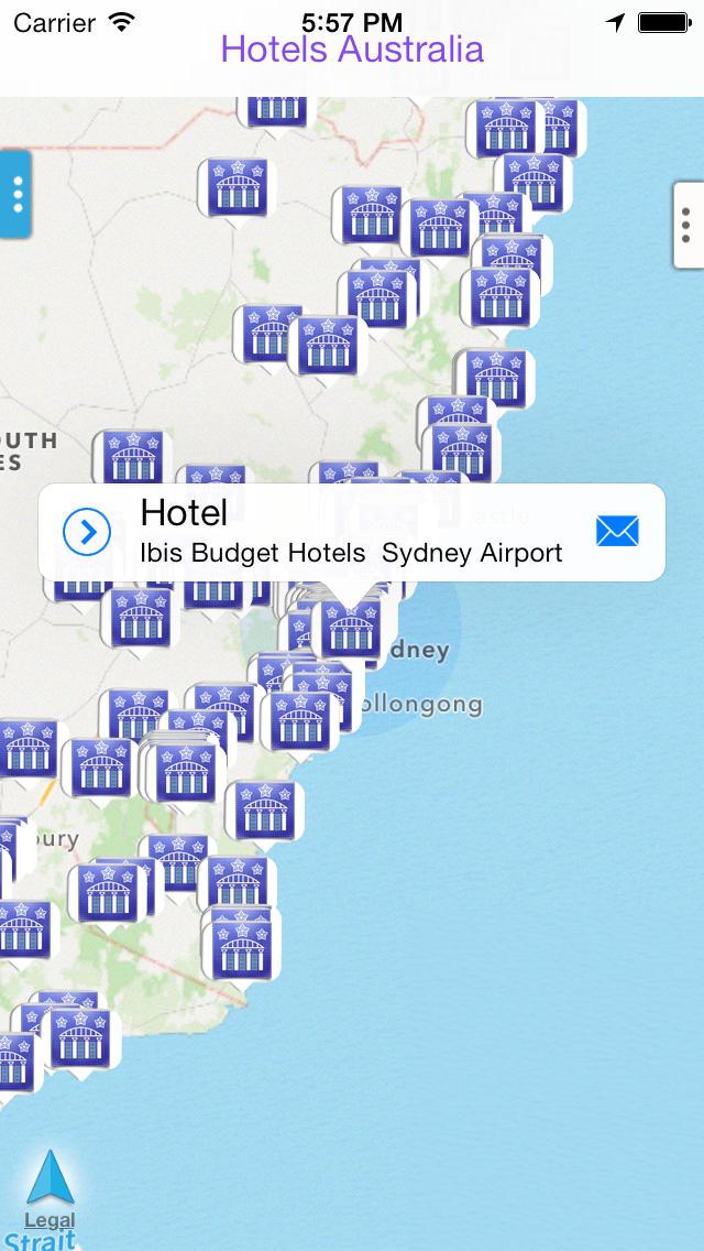 Hotels Australia screenshot 1