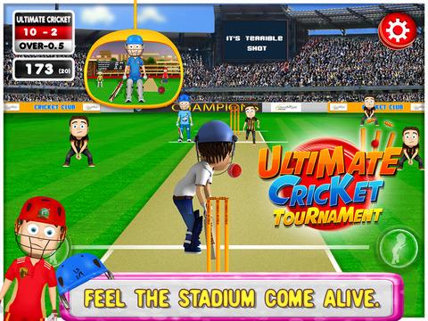 Ultimate Cricket Tournament screenshot 10