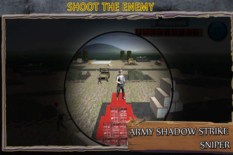 Army Shadow Strike: Sniper Ace Combat Killer - náhled