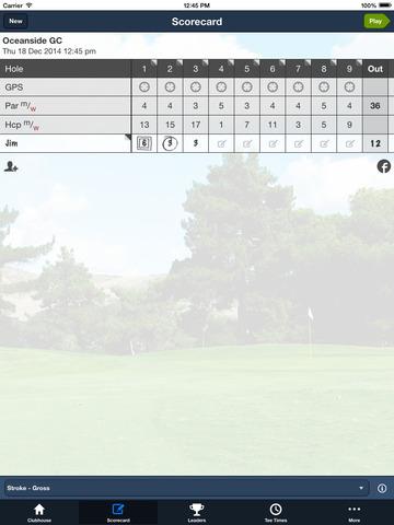 Oceanside Golf Course screenshot 8