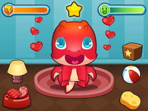 My Virtual Dragon - Pocket Pet Monster with Mini Games for Kids screenshot #1