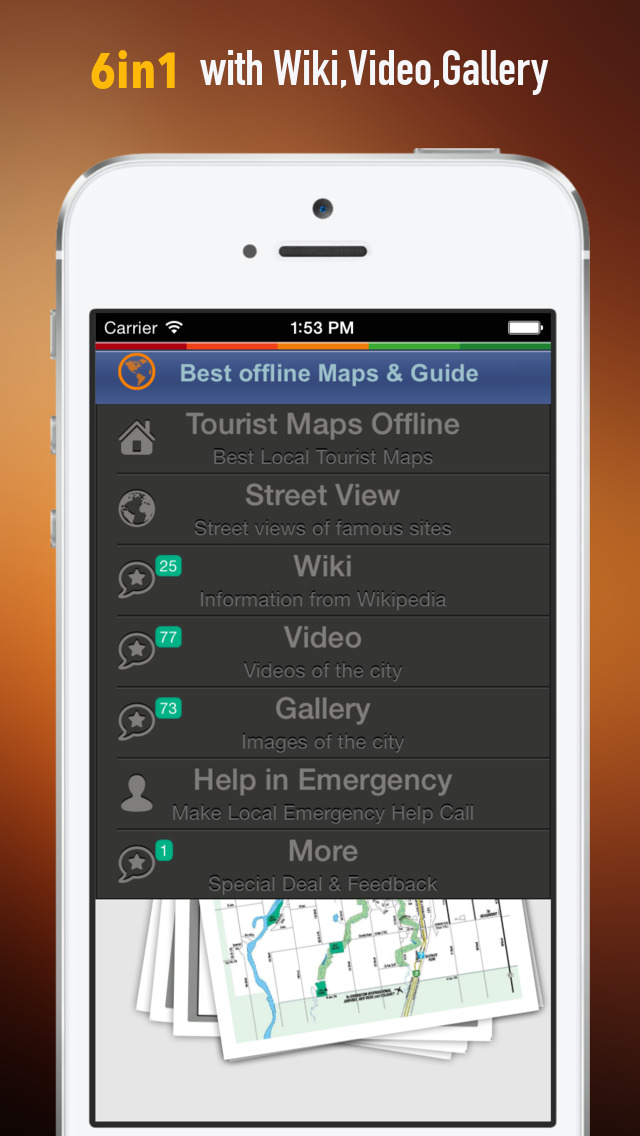 Edmonton Tour Guide: Offline Maps with Street View and Emergency Help Info screenshot 2