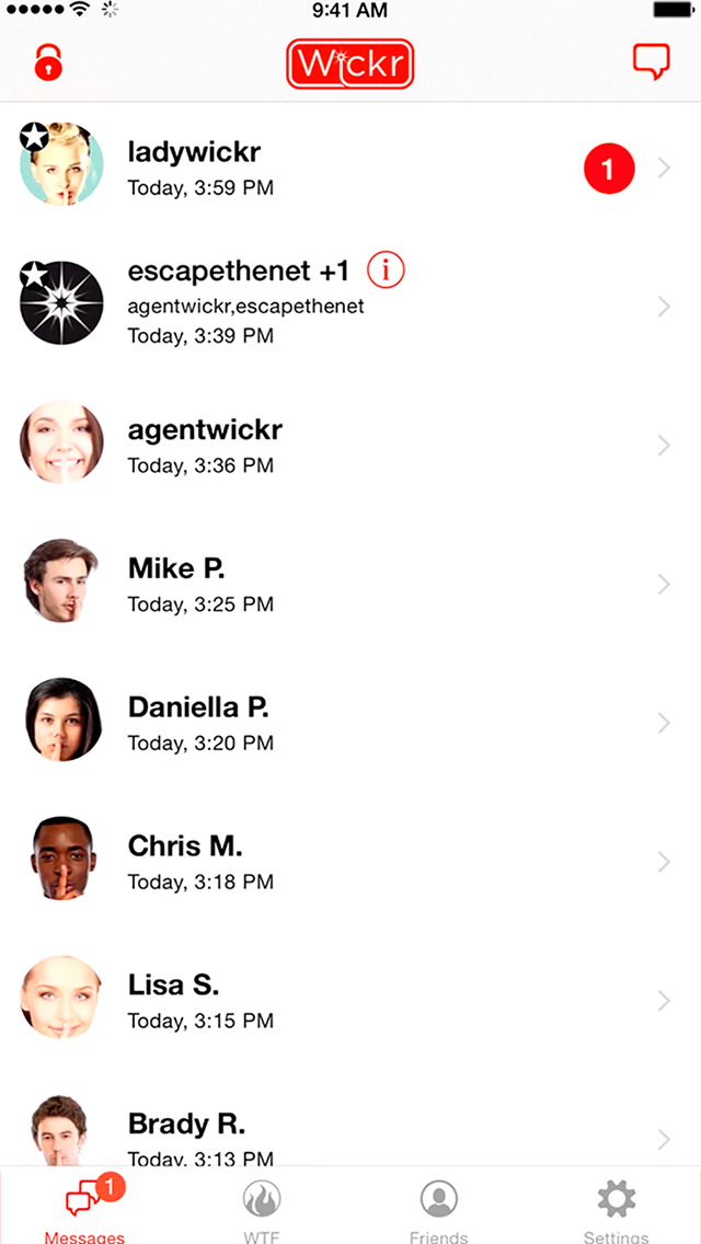 Wickr Me - Private Messenger screenshot #5