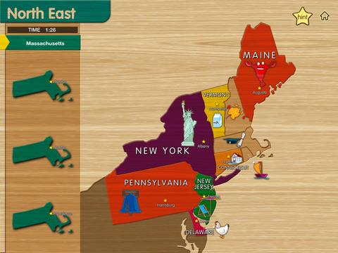 USA Map - Easy Learn screenshot 3