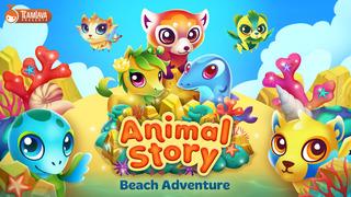 Animal Story: Beach Adventure screenshot 5
