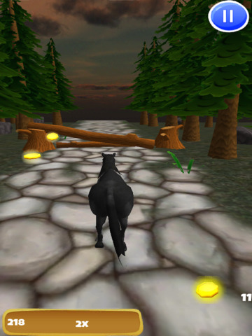 A Black Stallion: 3D Horsey Running Game - Pro Edition screenshot 7