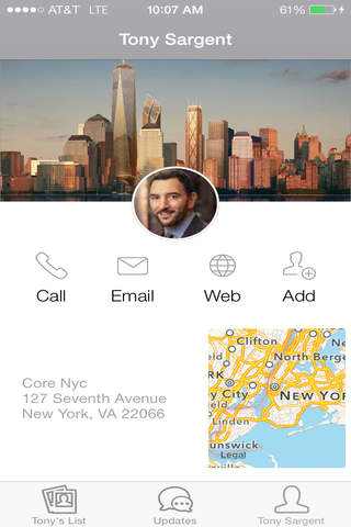 Tony Sargent - New York City Real Estate - náhled