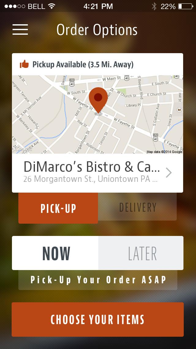DiMarco's Bistro & Cantina screenshot 2