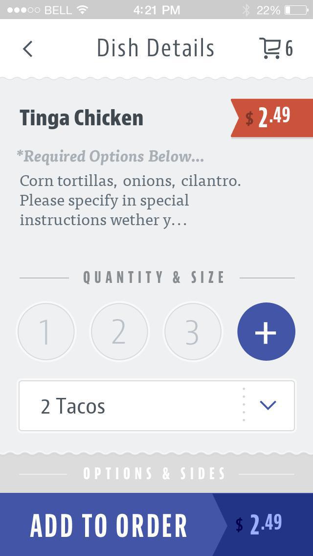 Guacamaya Fresh Mex screenshot 4