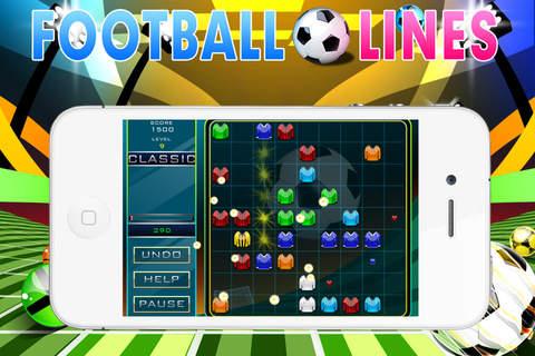 Football Lines - náhled