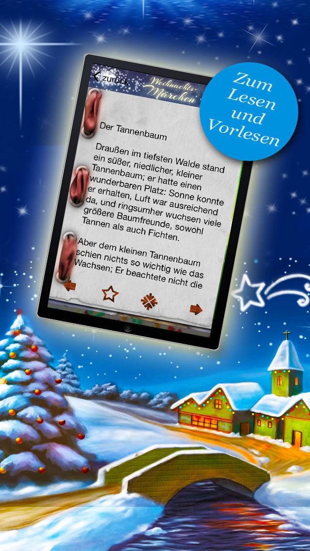 Weihnachtsmärchen für Kinder - Klassische Weihnachtsgeschichten zum Advent screenshot 3