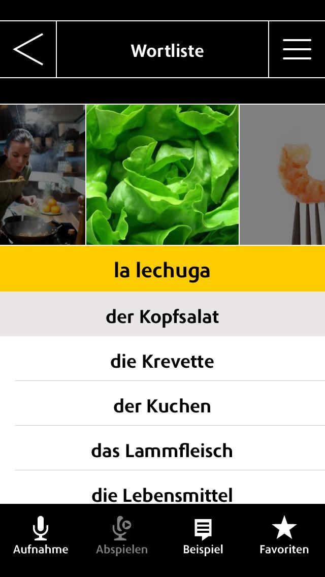 Spanisch Vokabeltrainer Langenscheidt IQ – Vokabeln lernen mit Bildern screenshot 3