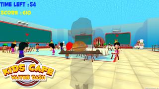 Kids Cafe Waitress Dash screenshot 4