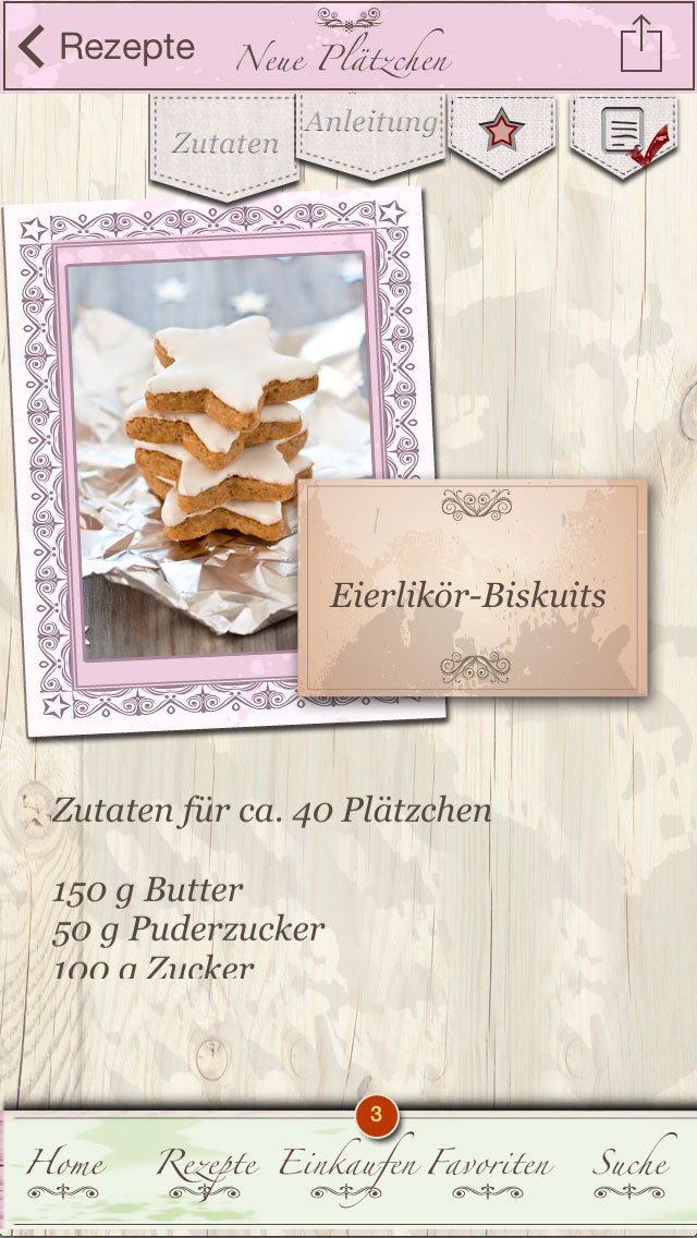 Plätzchen - Neue Rezepte screenshot 4