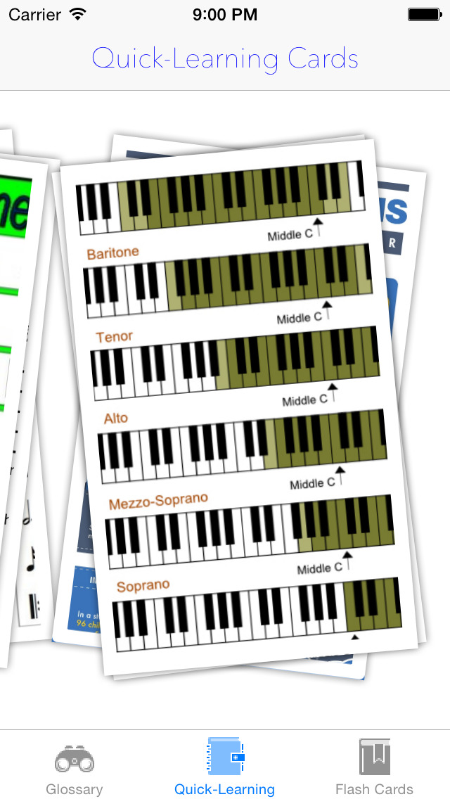 Musical Quick-Learn Term & Flashcard: Image and Video illustrations with interesting facts sheet screenshot 5